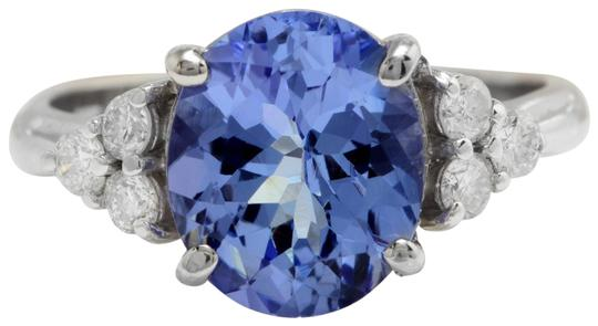 Preload https://img-static.tradesy.com/item/22410971/14k-yellow-gold-300ct-natural-blue-tanzanite-and-diamond-in-solid-white-ring-0-1-540-540.jpg