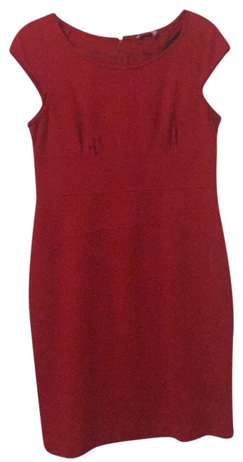Preload https://img-static.tradesy.com/item/22411015/calvin-klein-red-mid-length-workoffice-dress-size-12-l-0-1-650-650.jpg