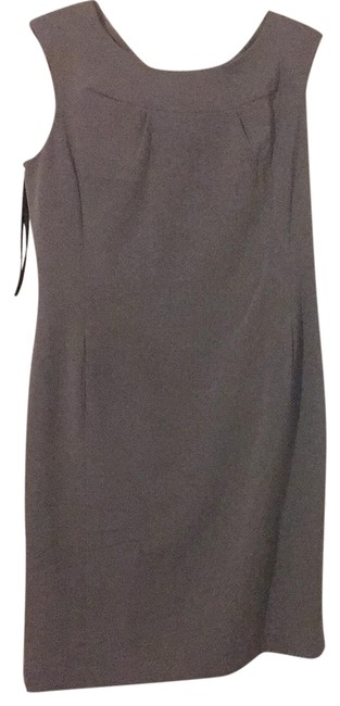 Preload https://img-static.tradesy.com/item/22411030/calvin-klein-gray-mid-length-workoffice-dress-size-12-l-0-1-650-650.jpg