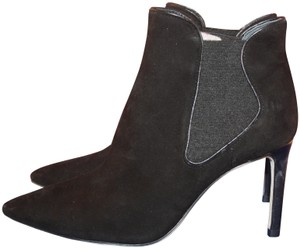Tory Burch Suede Elastic Black Boots - item med img