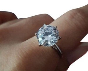 9.2.5 925 5 Ct Single Solitaire Diamond 5 6 7 8 9 10 Engagement Ring
