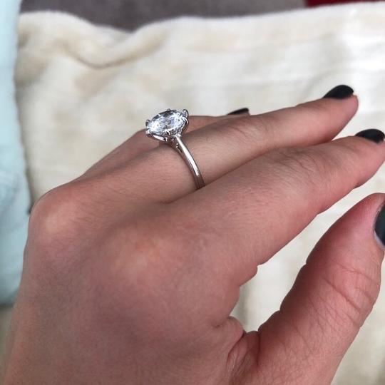 9.2.5 huge. if diamond solitaire engagement single ring all sizes silver bridal