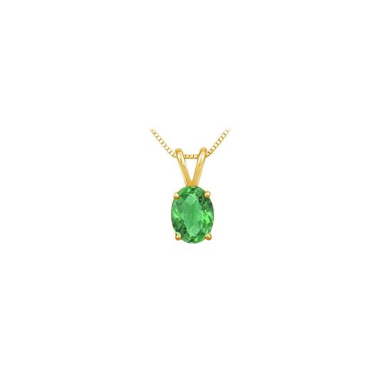 Preload https://img-static.tradesy.com/item/22411380/green-yellow-may-birthstone-emerald-oval-pendant-in-18k-gold-vermeil-necklace-0-0-540-540.jpg
