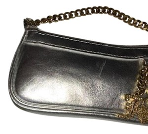 Juicy Couture Wristlet in Silver and gold