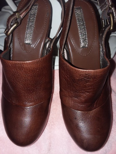 Banana Republic Brown Mules