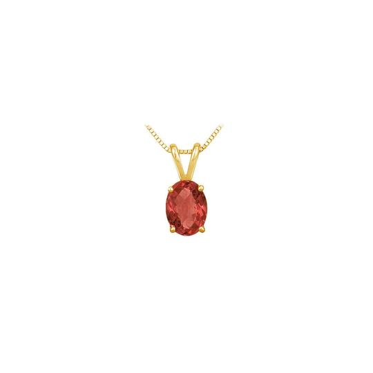 Preload https://img-static.tradesy.com/item/22411469/red-yellow-july-birthstone-oval-ruby-pendant-in-18k-gold-vermeil-necklace-0-0-540-540.jpg