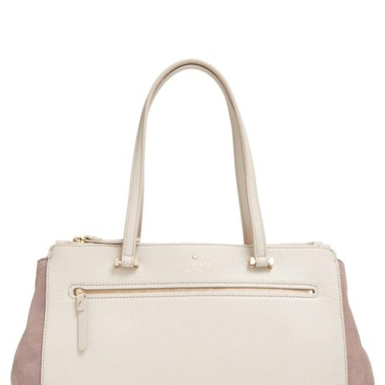 Preload https://img-static.tradesy.com/item/22411498/kate-spade-bennett-street-prue-tan-leather-and-suede-tote-0-0-540-540.jpg