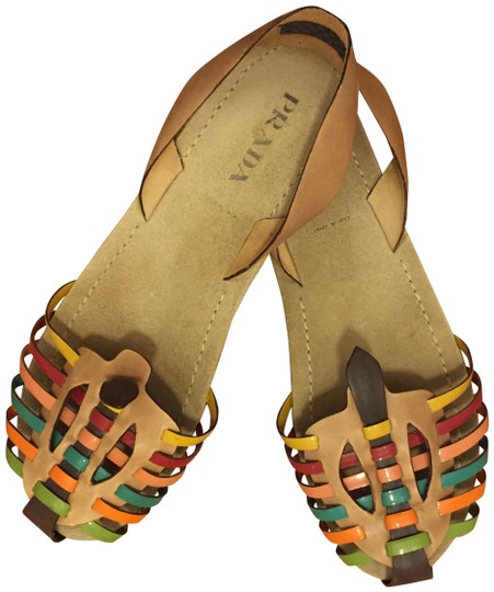 Preload https://img-static.tradesy.com/item/22411554/prada-multi-colors-vintage-collection-sandals-size-eu-37-approx-us-7-regular-m-b-0-1-540-540.jpg