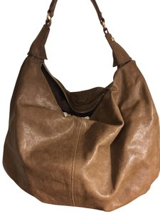 Max Mara Leather Designer Handbag Hobo Bag