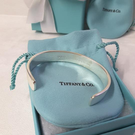 Tiffany & Co. Tiffany & Co Coin Edge Cuff Bangle Bracelet W/ box & Pouch