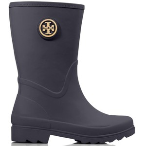 Tory Burch bright navy Boots