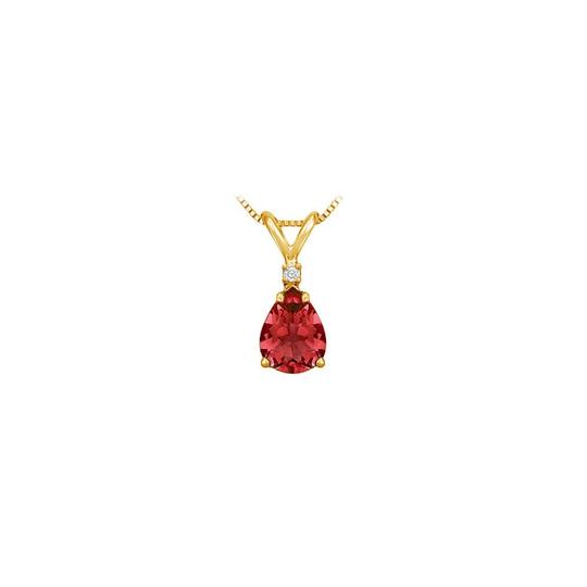Preload https://img-static.tradesy.com/item/22411752/red-yellow-july-birthstone-ruby-teardrop-pendant-with-cubic-zirconia-in-gold-verm-necklace-0-0-540-540.jpg