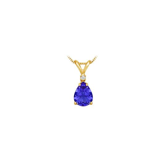 Preload https://img-static.tradesy.com/item/22411769/blue-yellow-september-birthstone-sapphire-teardrop-pendant-with-cubic-zirconia-in-necklace-0-0-540-540.jpg
