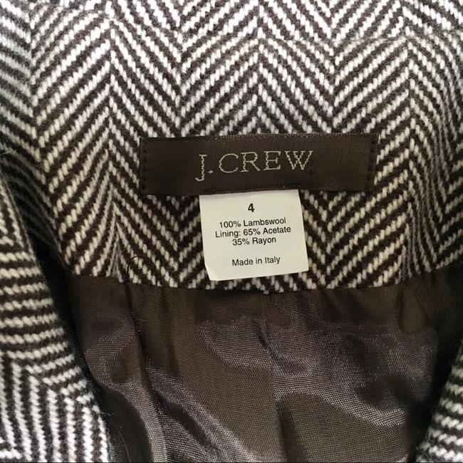 J.Crew herringbone brown-cream Blazer