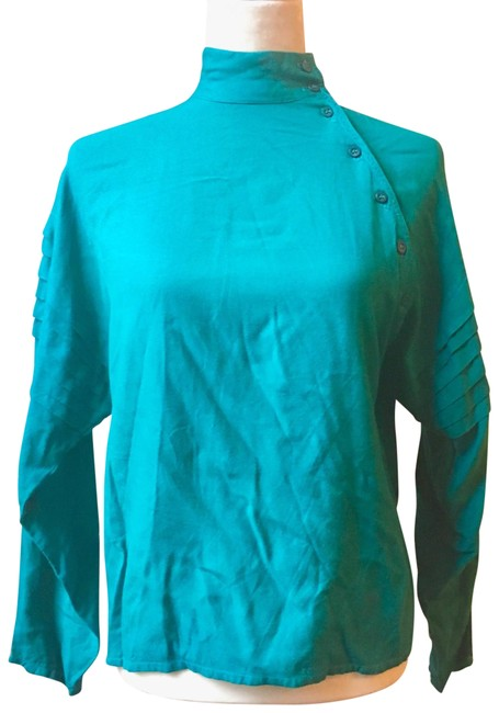 Preload https://img-static.tradesy.com/item/22411823/french-connection-teal-blue-green-vintage-turtleneck-sweaterpullover-size-petite-6-s-0-3-650-650.jpg