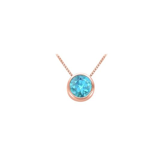 Preload https://img-static.tradesy.com/item/22411988/blue-rose-1-carat-december-birthstone-topaz-bezel-pendant-vermeil-necklace-0-1-540-540.jpg