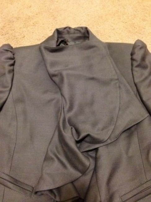 Juicy Couture Blue Gray Blazer