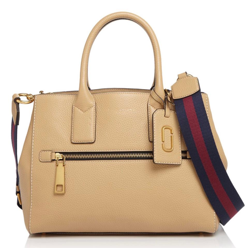 191a3f22383be Marc Jacobs New Gotham City Tote Sand Leather Satchel - Tradesy