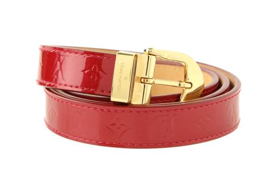 Preload https://img-static.tradesy.com/item/22412103/louis-vuitton-red-pomme-d-amour-vernis-belt-0-4-540-540.jpg