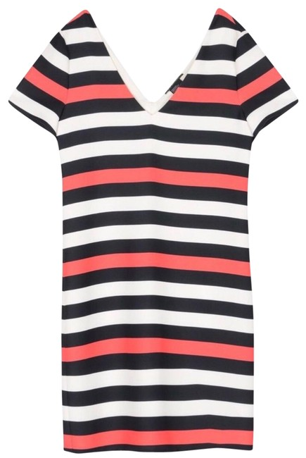 Preload https://img-static.tradesy.com/item/22412106/ax-armani-exchange-striped-short-casual-dress-size-2-xs-0-1-650-650.jpg