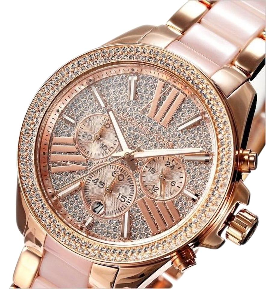 8a3e8afe3a2b Michael Kors Rose Gold Mk6096 Watch - Tradesy
