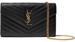 Saint Laurent Wallet Monogram Chain Woc Chain Wallet Shoulder Bag