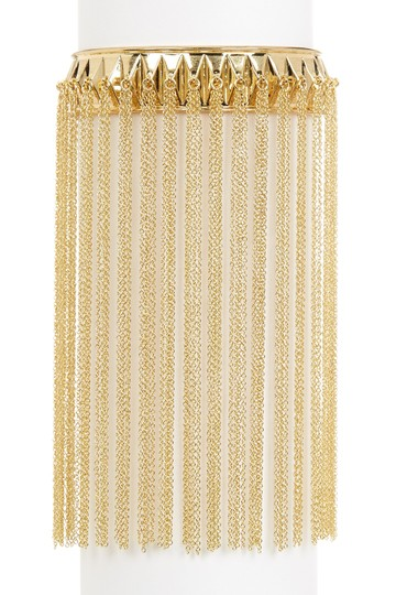 House of Harlow 1960 House of Harlow 1960 Fringe Pyramid Cuff Gold