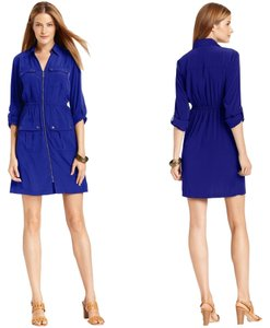 Alfani short dress Electric Blue on Tradesy