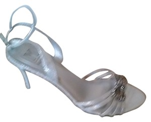 M By Marinelli Sew Silver Sandals