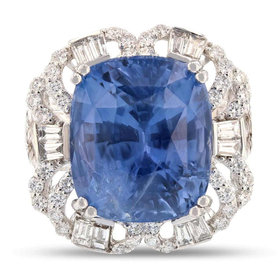 french cushion ring a engagement pave enr ultra in blue solitaire halo unheated sapphire pav petite white