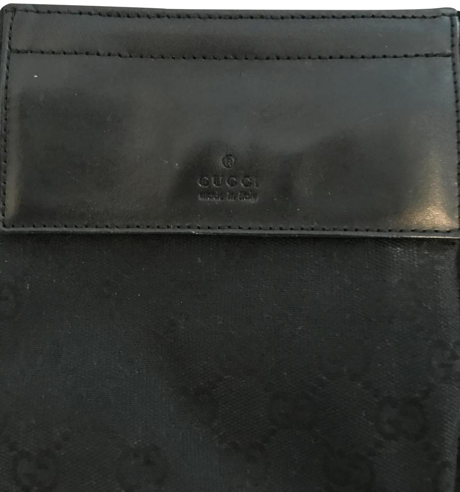71d3e8141d29 Gucci Black Monogram Belt Bag/Designer Wallet - Tradesy