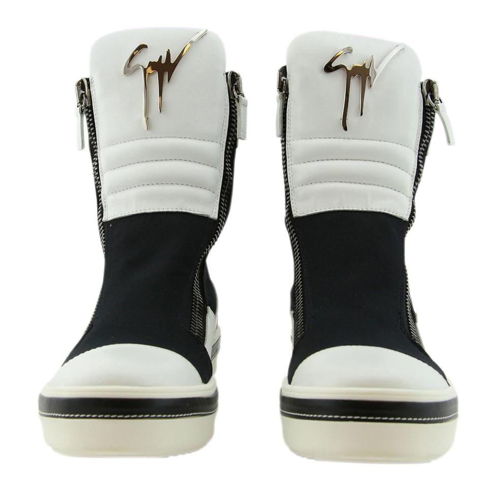 b9b0b0e522121 Giuseppe Zanotti Men Boots Sneakers High-top Sneaker Sneaker White Athletic  Image 0 ...