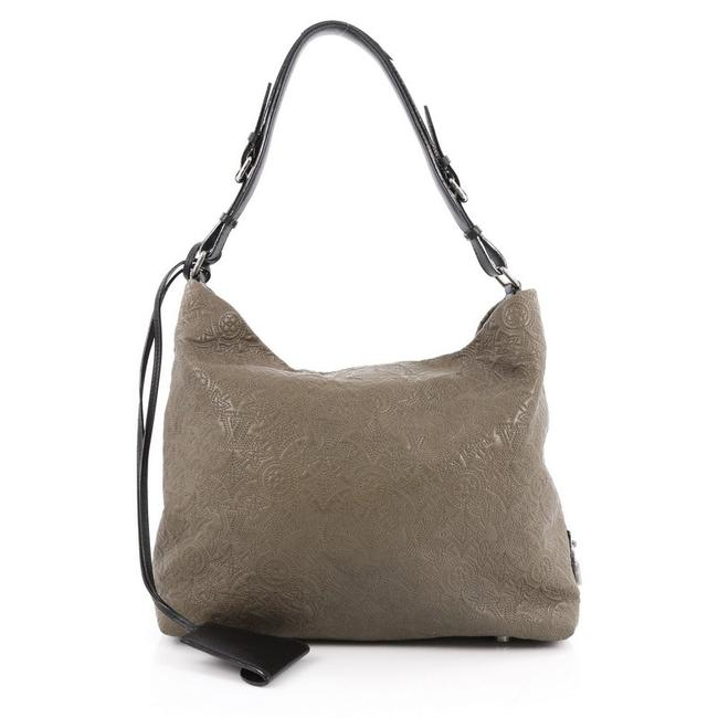 Item - Antheia Pm Military Green Leather Hobo Bag