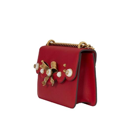 Gucci Chain Leather Crossbody Shoulder Bag Image 2