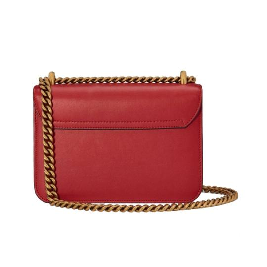 Gucci Chain Leather Crossbody Shoulder Bag Image 3