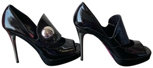 Betsey Johnson Black patent Platforms