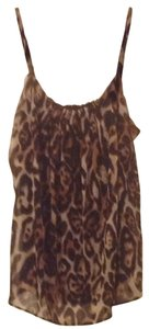 New York & Company Top Animal Print