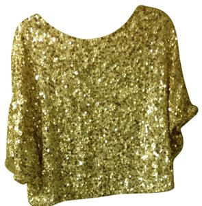 Vince Top Gold