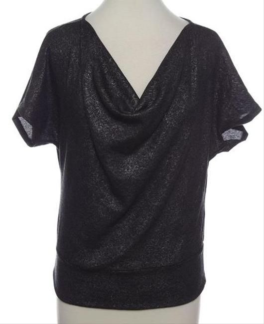 Preload https://item2.tradesy.com/images/ny-collection-shirt-date-night-top-metallic-charcoal-grey-2241531-0-0.jpg?width=400&height=650