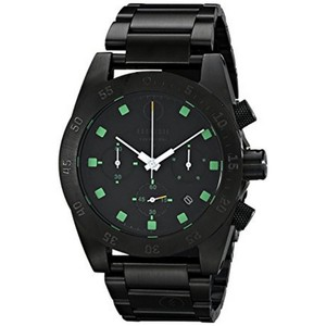 Electric EW0030010020 Men's Black Steel Band With Black Analog Dial Watch