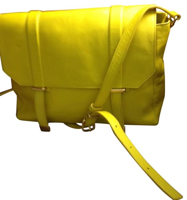 Marc by Marc Jacobs Large Yellow Leather Cross Body Bag Marc by Marc Jacobs Large Yellow Leather Cross Body Bag Image 1