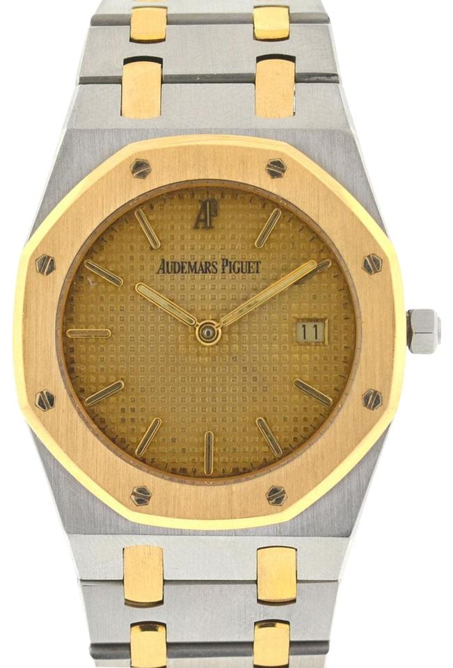 collection royal watches oak yellow gold en audemars in selfwinding case watch zz piguet