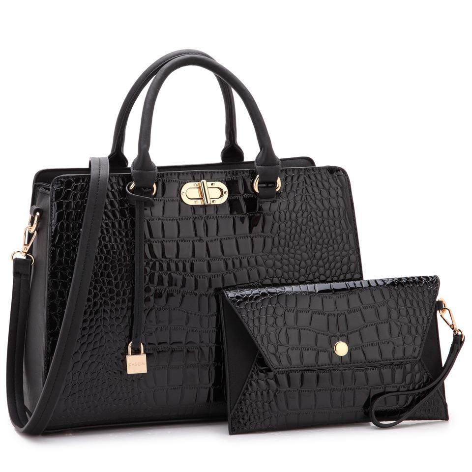 d20f461f936b Anais Gvani Bags The Treasured Hippie Designer Inspired Large Affordable  Classic Satchel in Black ...