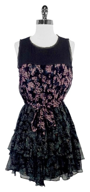 Preload https://item5.tradesy.com/images/elizabeth-and-james-floral-silk-ruffled-mid-length-short-casual-dress-size-4-s-2241569-0-0.jpg?width=400&height=650