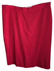 Saks Fifth Avenue Skirt Red