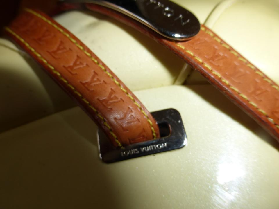 bf68e319f5d Louis Vuitton PATENT YELLOW LEATHER & BROWN LEATHER STRAP Boots Image 9.  12345678910