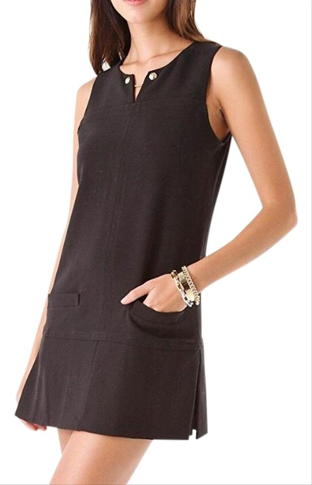 d63f03582b0 Juicy Couture Black Round Double Cloth Short Casual Dress Size 4 (S ...
