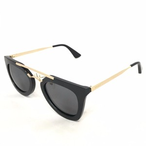 e58de8b5b8d Prada Black   Gold Spr09q Cinema Sunglasses - Tradesy