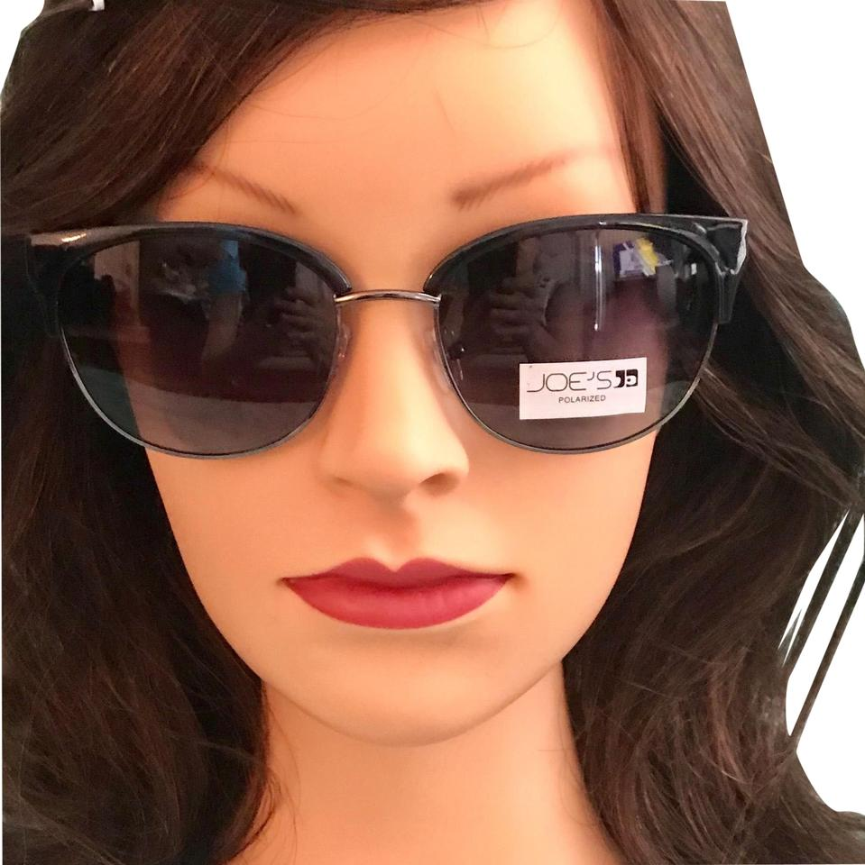 54e9df57bb JOE S Jeans Black Cat Eye Sunglasses - Tradesy