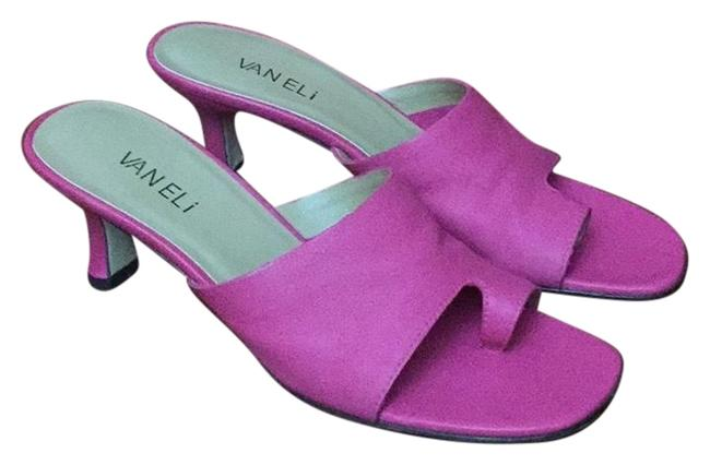 Item - Pink Melea Leather Sandals Size US 8 Narrow (Aa, N)